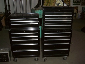 Large Mechanic`s tool box- black