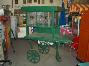 Glass Flower Cart.