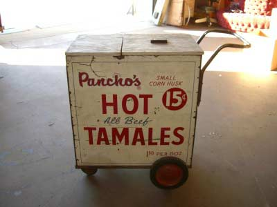 Hot Tamale Cart.