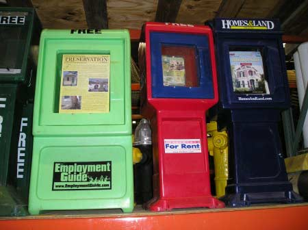 Newspaper Dispensers- free newspaper