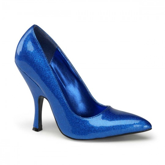 High Heels Pleaser Pin Up Couture 'BOMBSHELL-01G' Silber-9 9 0Mnuff