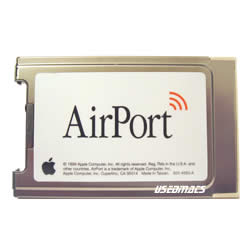 Original Apple Airport Card 802.11B  Wireless
