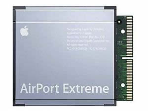 Apple Airport Extreme Wireless WiFi Card 802.11G M8881LL/A